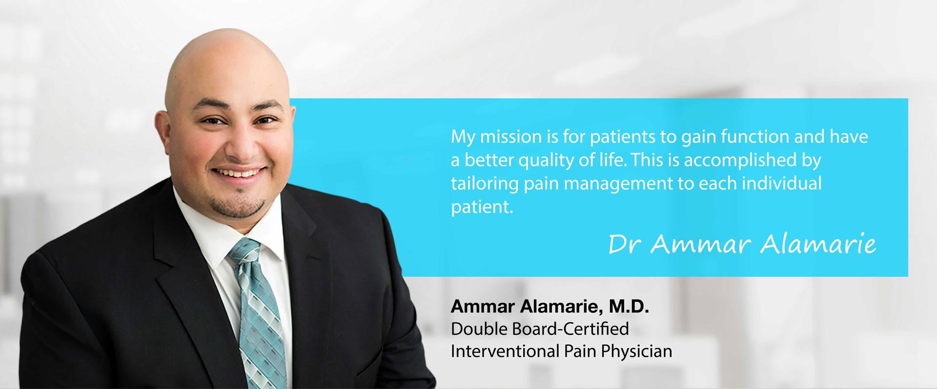 Dr. Ammar Alamarie, MD